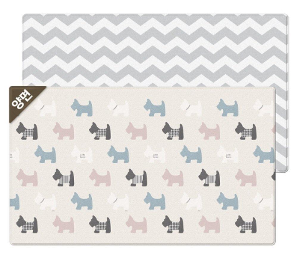 【500円引きクーポン】 Parklon Pure Design Parklon Soft Playroom Little Terrier Design Double-sided mat両面デザイン赤ちゃんプレイマット(海外直送品) 235x140x1.5cm (190x130x1.2cm) B07B6PTHR5 235x140x1.5cm 235x140x1.5cm, 標茶町:248fa53b --- lightinglogistics.co.za