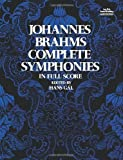 img - for Johannes Brahms Complete Symphonies in Full Score (Vienna Gesellschaft Der Musikfreunde Edition) by Johannes Brahms (1974-06-01) book / textbook / text book