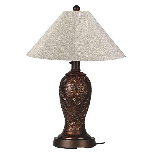 Amazon.com: Monterey lámpara de mesa visualización: Plata ...