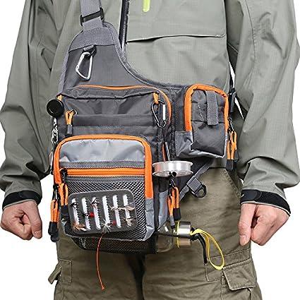 Amazon.com: Focus Bolsa de hombro aparejos de pesca bolsa ...