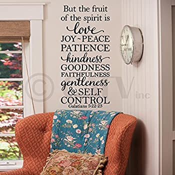 Amazon Com But The Fruit Of The Spirit Is Love Joy Peace