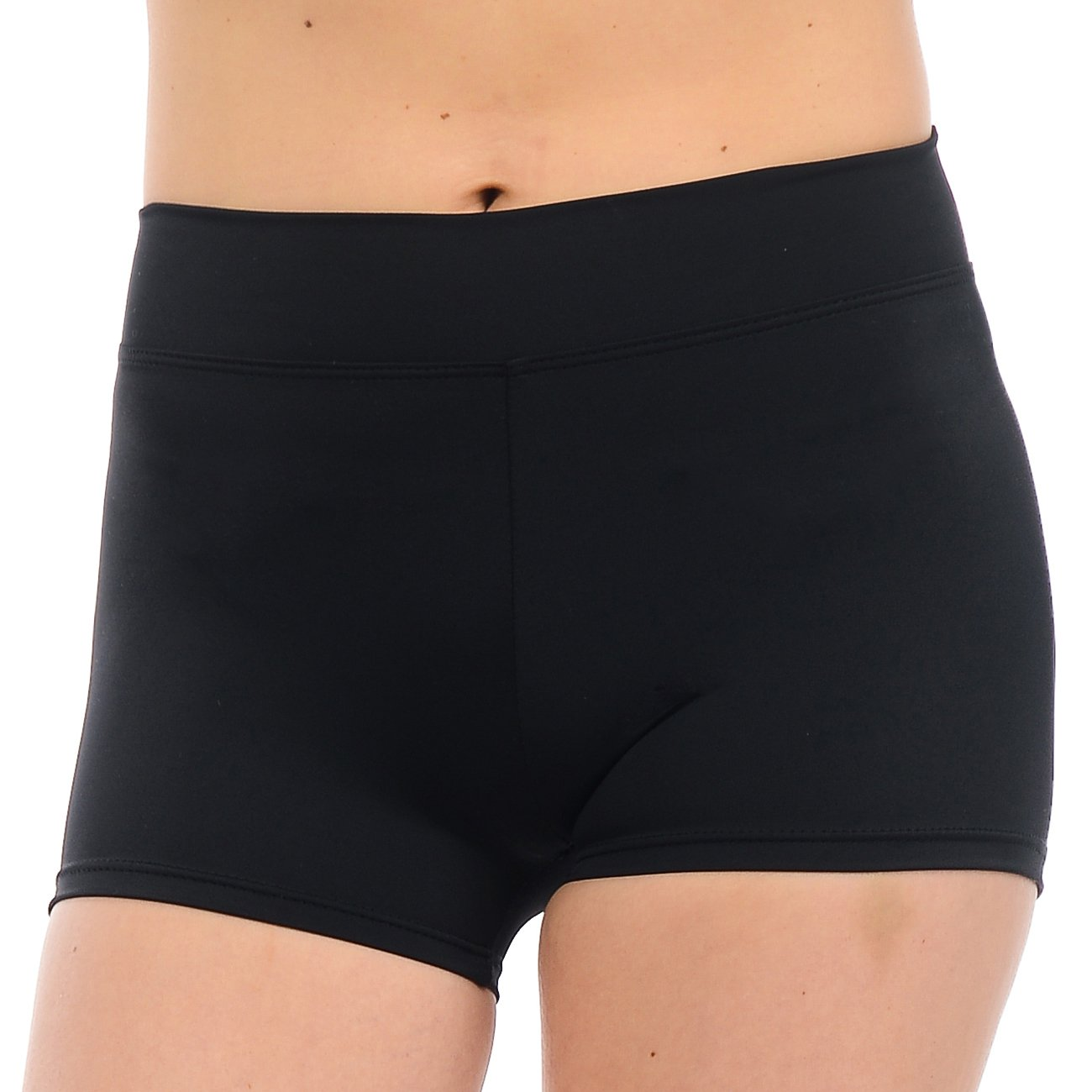 ANZA Girls Active Wear Dance Booty Shorts-Black,X-Small(2/4) by Anza Collection