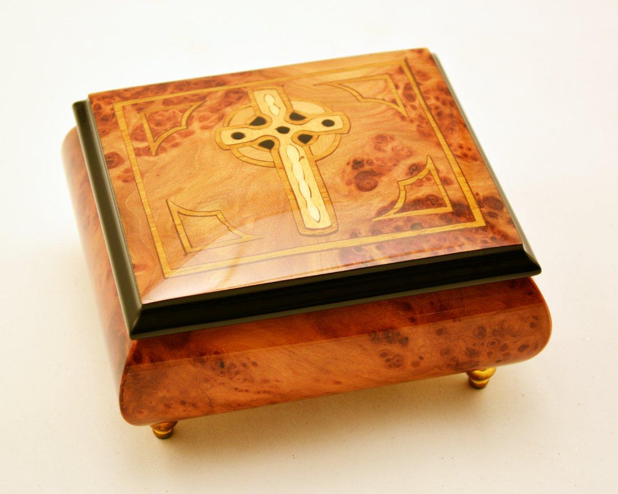 当店在庫してます! イタリア製 ソレント象嵌ケルト十字架オルゴール - - イタリア製 アヴェマリア(サンキョー18ノート) B011J2Z4YY B011J2Z4YY, アジアン & カジュアル マーライ:3c725fbe --- arcego.dominiotemporario.com