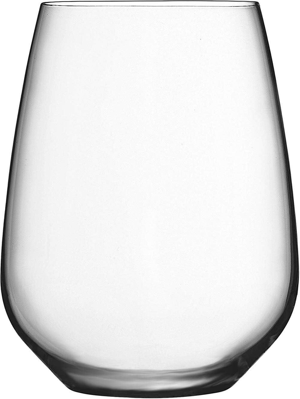 Circleware 44573 Capri Set of 6-15 oz. Stemless Wine Glasses Home and Kitchen Utensils, 6