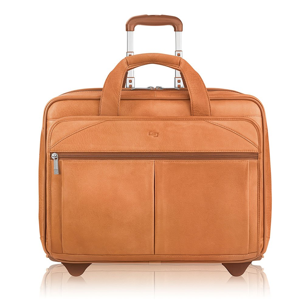 Solo Classic Carrying Case (Roller) for 15.6'' Notebook - Tan