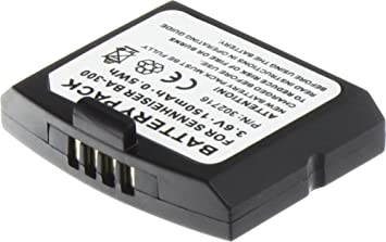 MTEC Batería 140mAh 0,50Wh 3,6V para Sennheiser HDI 830 IS 410 IS