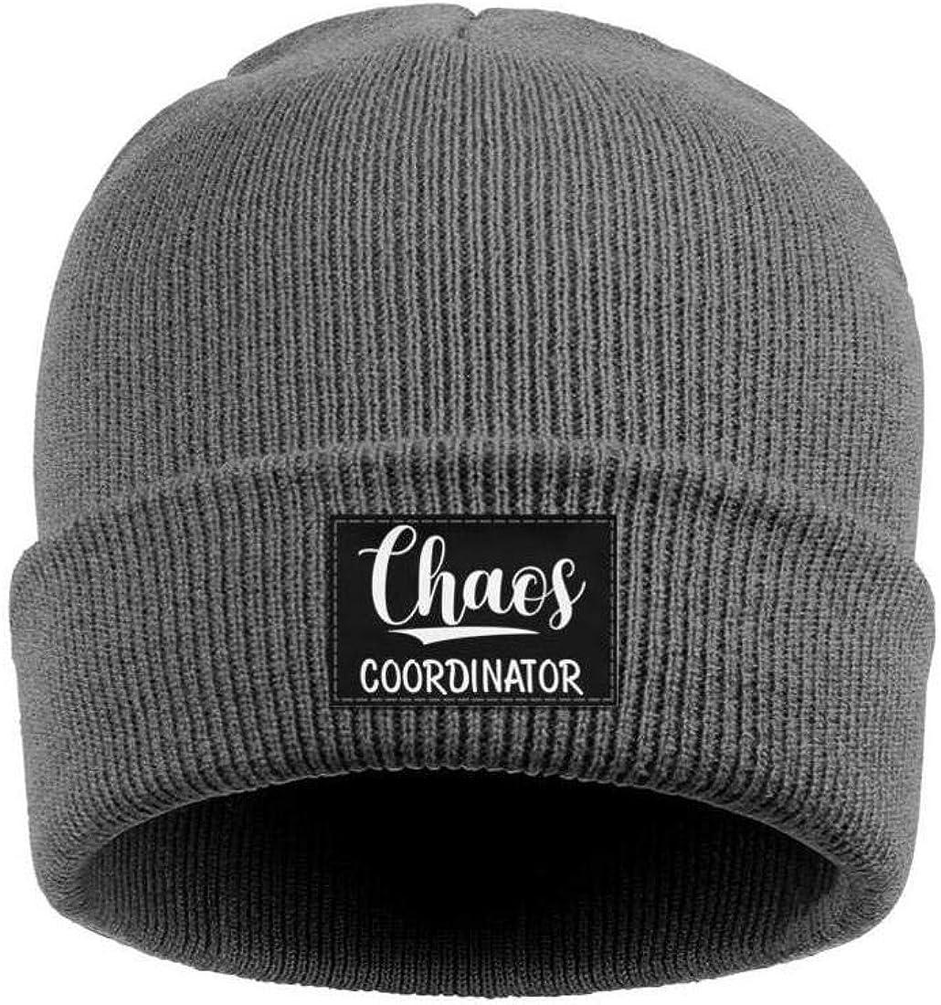 ONEYUAN Chaos Coordinator Unisex Knit Hat Warm Woolen Sport Ski Cap Outdoor