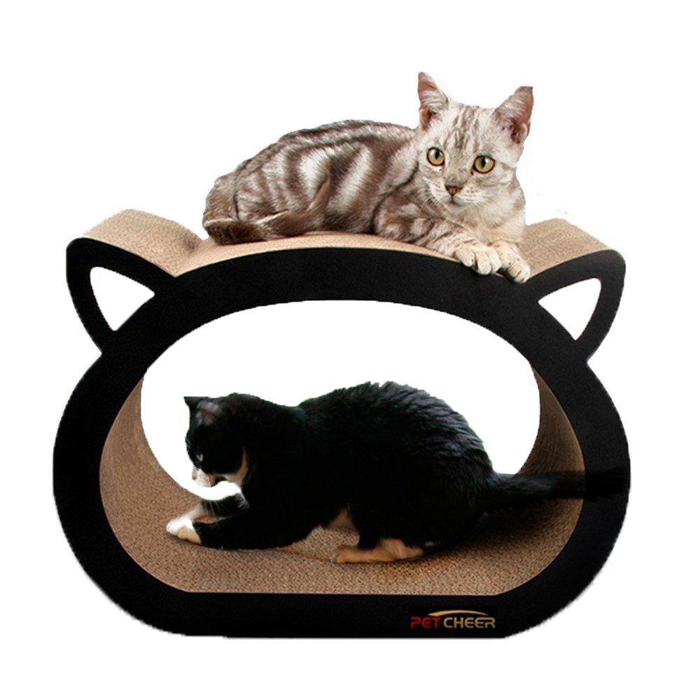 Arbre à chat Petcheer, griffoir et zone de détente pour chat avec herbe à  chat 8f5f055b9cc2