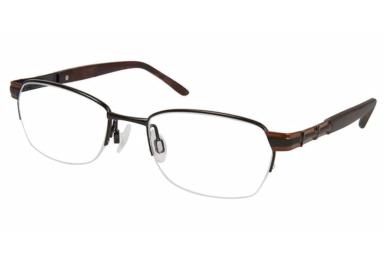 Aristar by Charmant Eyeglasses AR16370 AR//16370 538 Black Optical Frame 46mm