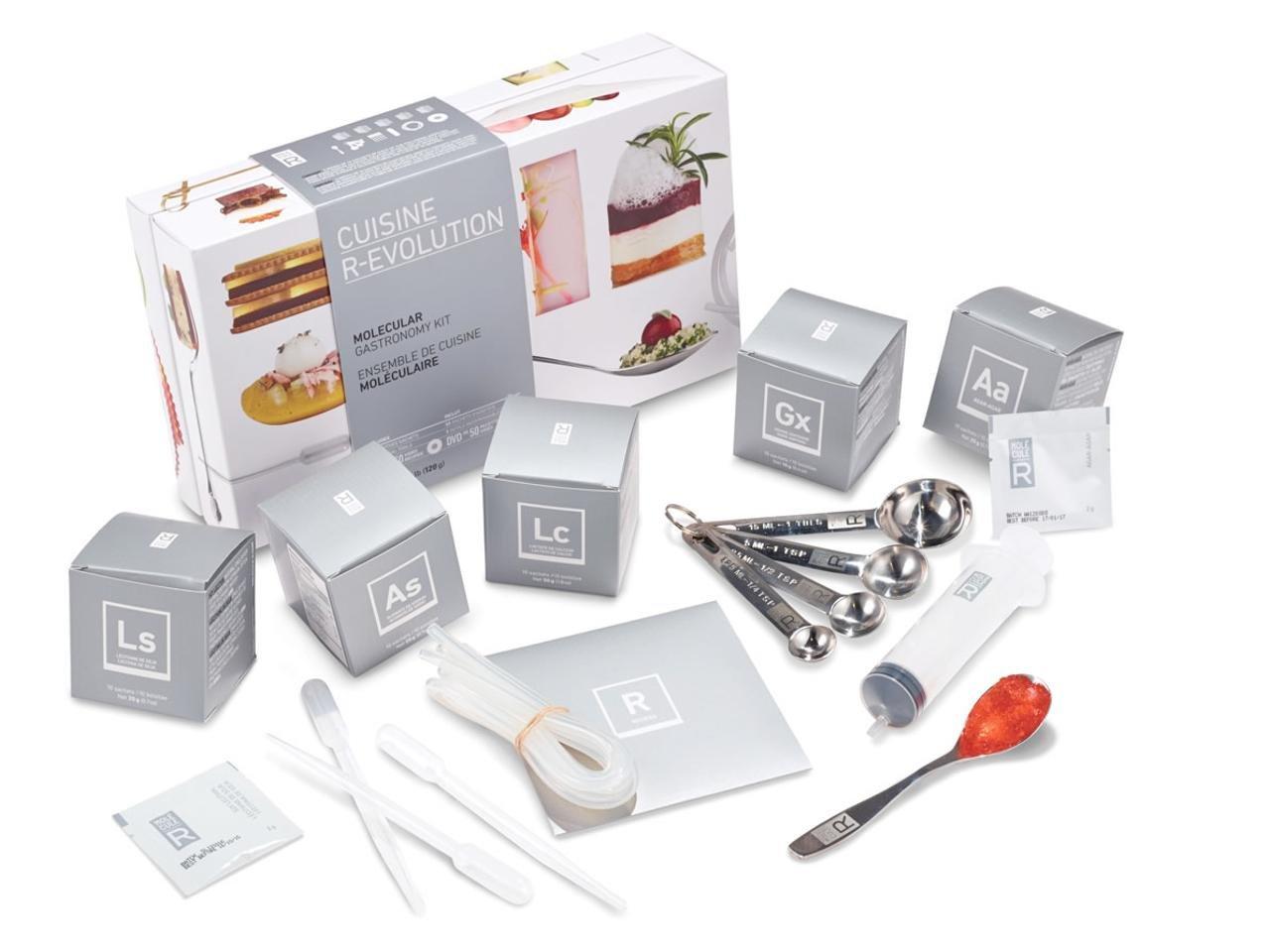 Amazon.com: Molecule-R Cuisine R-Evolution (Now With Silicon Mold ...