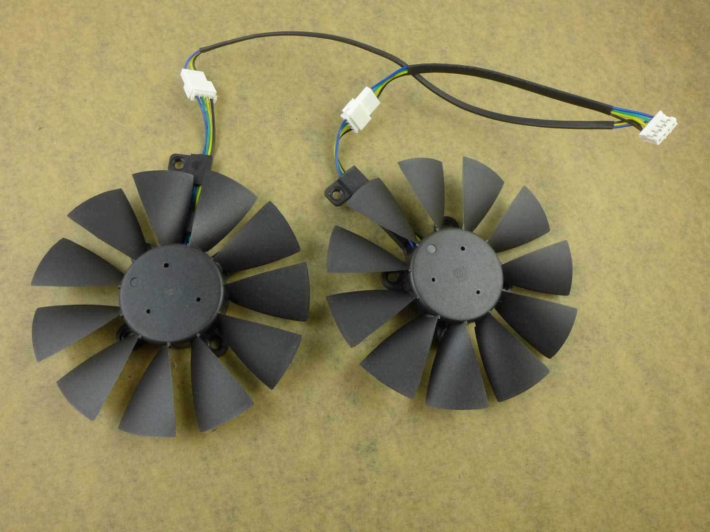FidgetFidget 88MM T129215SU Fan for ASUS GTX1060 1070 Ti RX 470 570 580 Dual OC Graphics Card