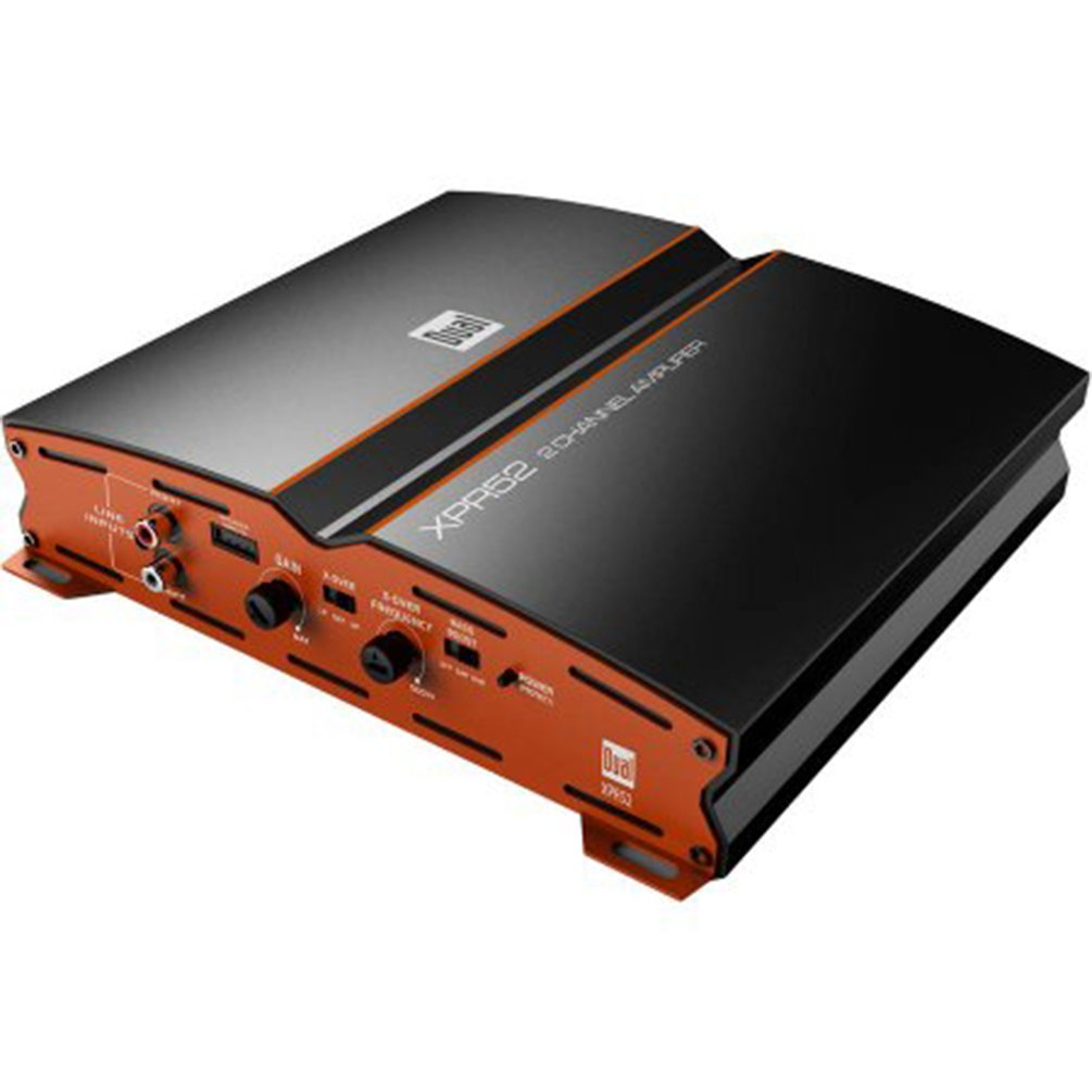 Dual Xpr52 2 Channel Bridgeable Amplifier Car Electronics Baby Boomer 600w 8quot Subwoofer Electronicswoot