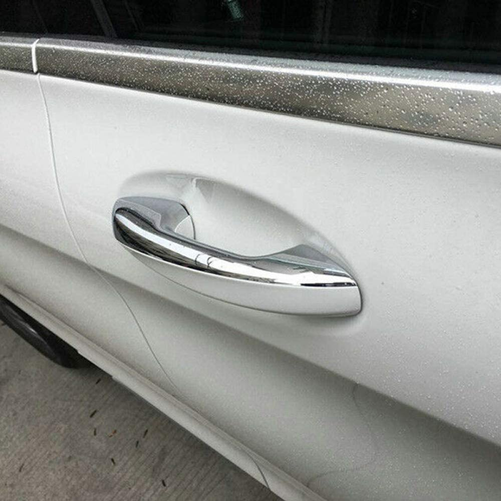 YXSMMB Verchromte Autot/ürgriffabdeckung////, F/ür Mercedes Benz E Klasse C Klasse GLE GLC