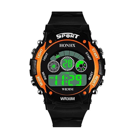 ... Multifunciónal Resistente al Agua Cuarzo Japonés Calendario Moda Negro Correa Silicona Reloj de Pulsera de Hombre Smartwatch Unisex: Amazon.es: Relojes