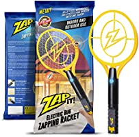 Zap-It! Bug Zapper - Rechargeable Mosquito, Fly Swatter/Killer and Bug Zapper Racket - 4,000 Volt USB Charging, Super-Bright LED Light to Zap in the Dark
