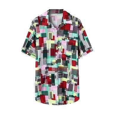 Feinny Funky Camisa Hawaiana | Señores | M - 3XL | Manga Corta ...