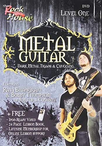 Rock House Metal Guitar - Metal Guitar with Ravi Bhadriraju & Bobby Thompson - Level One