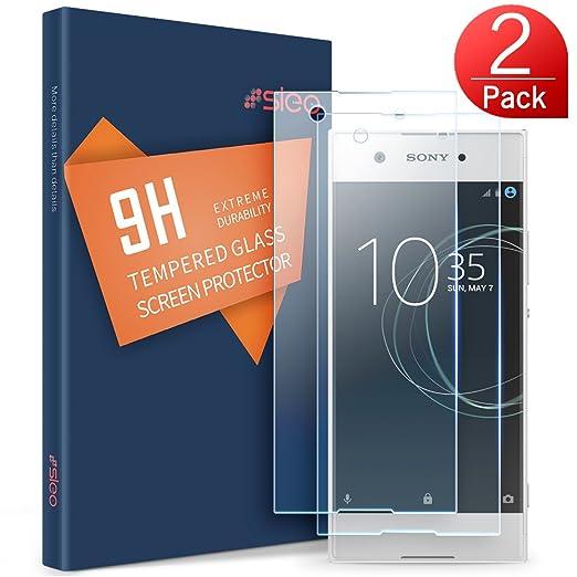 3 opinioni per Pellicola Protettiva Cover Sony Xperia XA1, SLEO Pellicola Vetro Temperato Sony