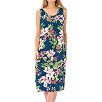 The Best Gift!!!Cimaybeauty Women Pregnant Maternity Nursing Breastfeeding Summer Sleeveless Floral Dress