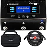 #5: TC Helicon VoiceLive Play Acoustic Guitar/Vocal Effects Processor with Carry Case and 10' XLR Mic Cable