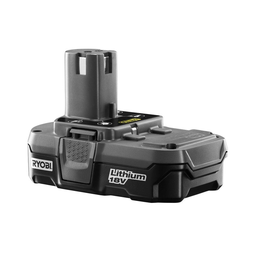 Ryobi P102 Genuine OEM 18V One+ Lithium Ion Compact Battery for Ryobi Cordless Power Tools by Ryobi (Image #1)