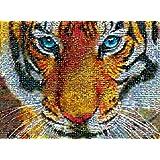 Buffalo Games Photomosaic Tiger, 1000-Piece Jigsaw Puzzle