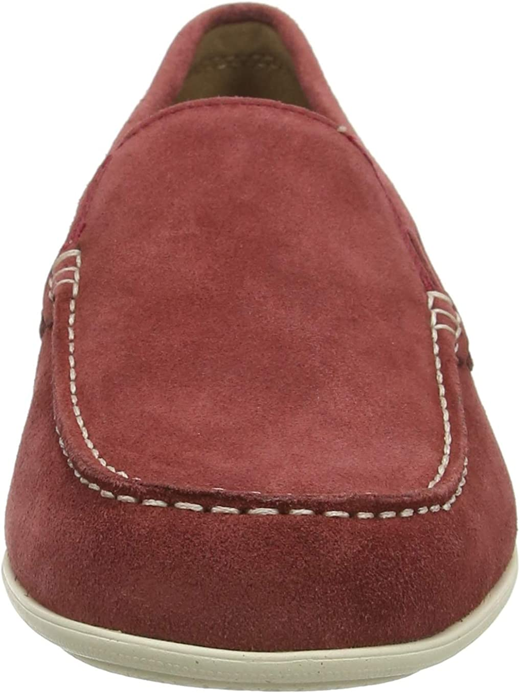 Rockport Malcom Venetian Loafer, Mocassins Homme Rouge Ketchup Sde 009