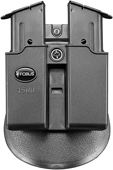 Paddle 6911NDP Fobus Double Mag Pouch 9mm Solo//Nano//LC9//P239