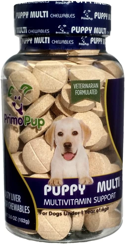 Primo Pup Multivitamin Support For Puppies