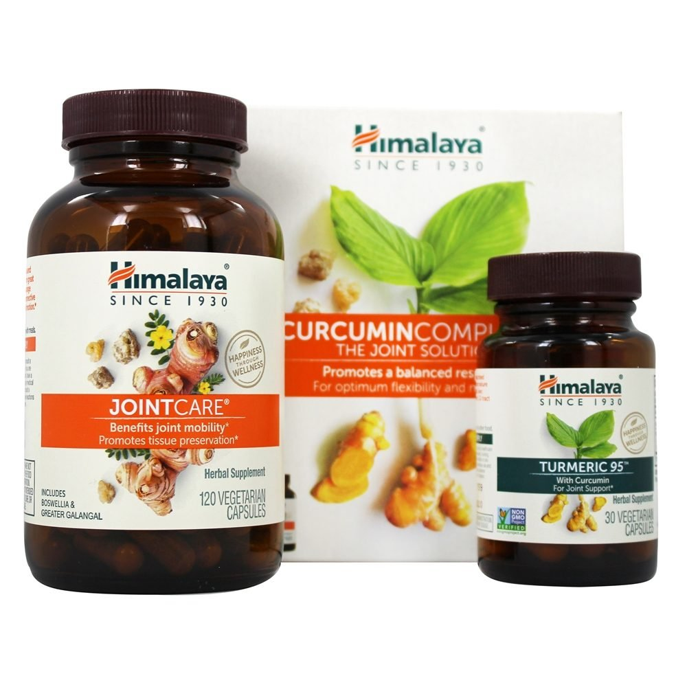 Himalaya Herbal Healthcare - Curcumin Complete The Joint Solution ...