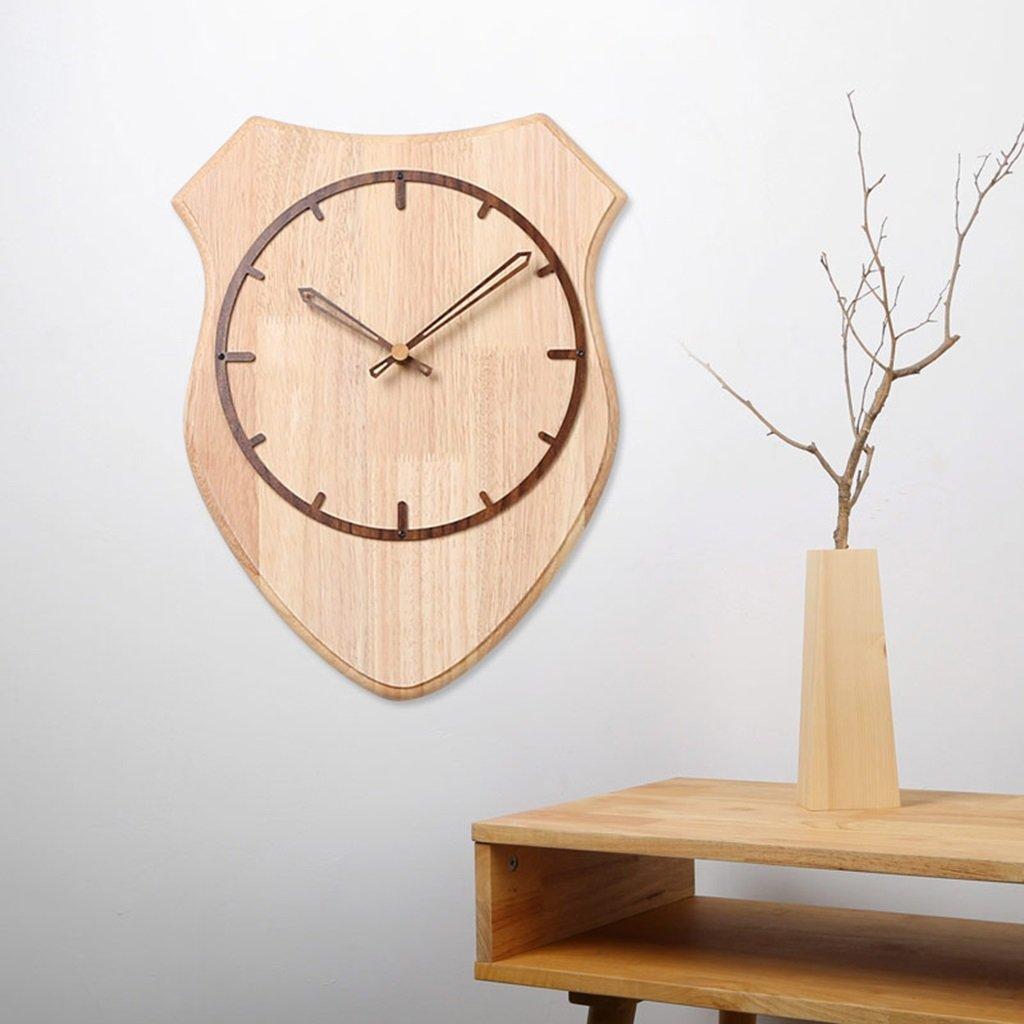 パーソナリティウォールクロックアートデコレーションクリエイティブ時計モダンファッションモダンミニマリストアート北欧 (色 : B) B07DGBM87V B B