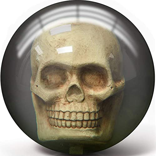 Pyramid Clear Skull Bowling Ball