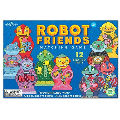 Robot & Friends Matching Game