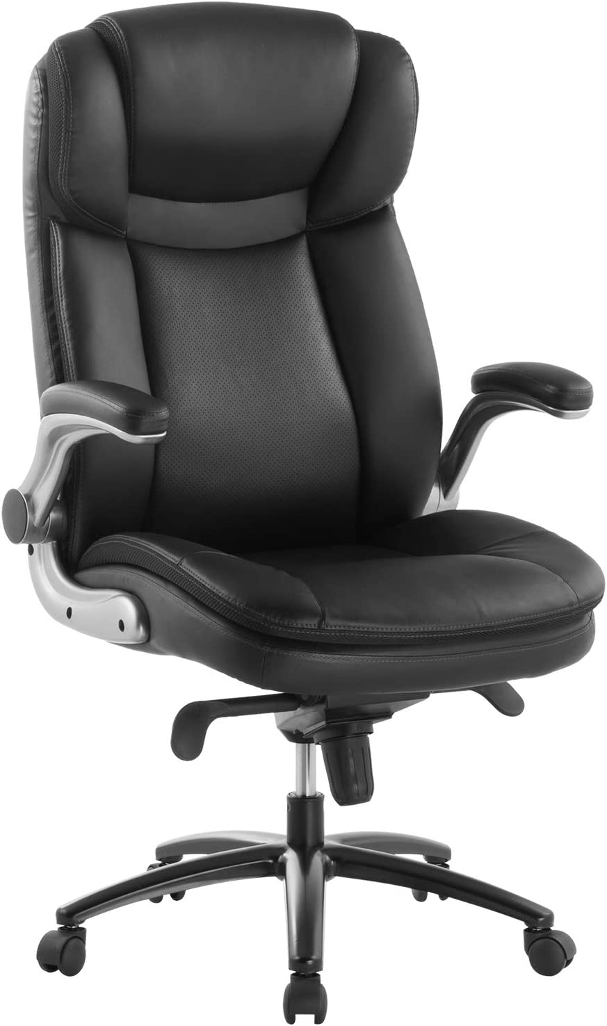 Topsky Office Chair Executive Large Leather Chair White Blue Amazon Ca Sports Outdoors
