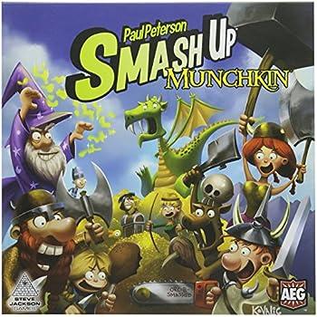 Smash Up Munchkin Card Game