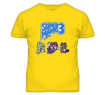 5489791e Super Mario Bros 3 Character T Shirt   Amazon.com