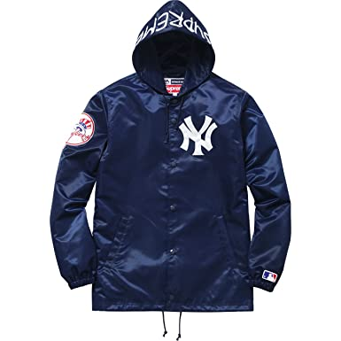 supreme x new york yankees t shirt