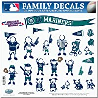 MLB Seattle Mariners Large Family Decal Set