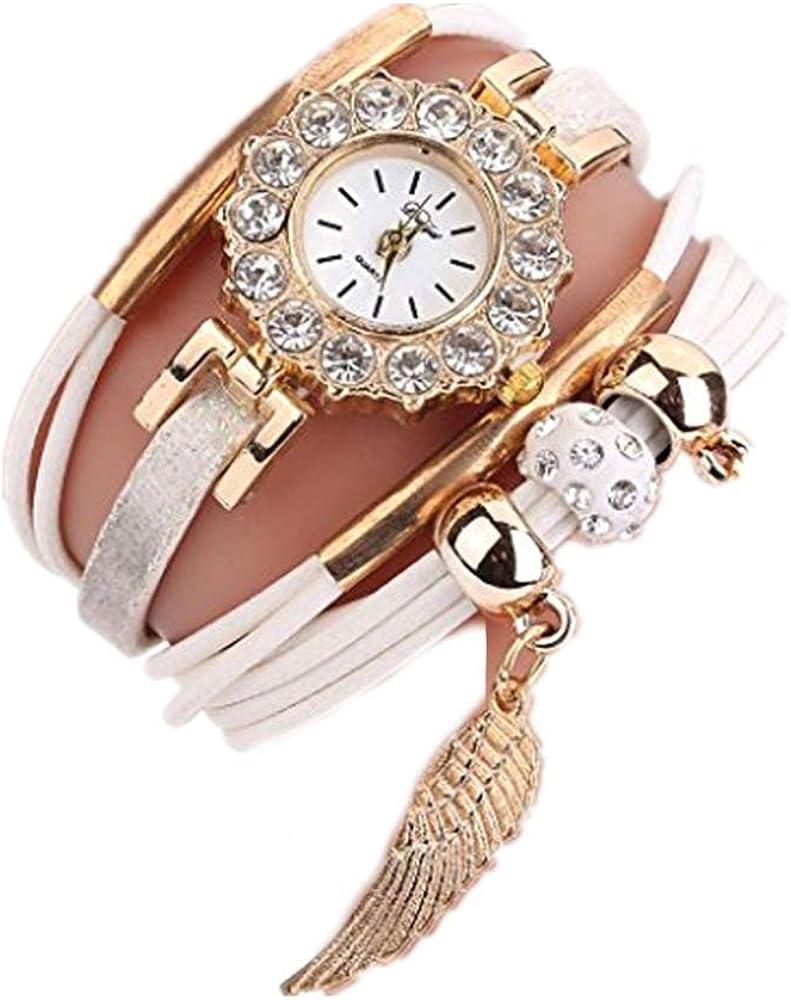 Relojes de Mujer 2018 Reloj de Cuarzo Popular Pulsera Piedras Preciosas de Flor por ESAILQ