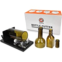 Bottle Cutter Genround [2019 Upgrade 2.1] Glass Bottle Cutter Machine for Round Square & Oval Bottle | Cut Bottle From Neck To Bottom | Glass Cutter Bottle Cutting Tool For DIY Projects