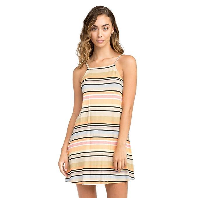 RVCA Womens Odyssey Slim Fit Mini Dress