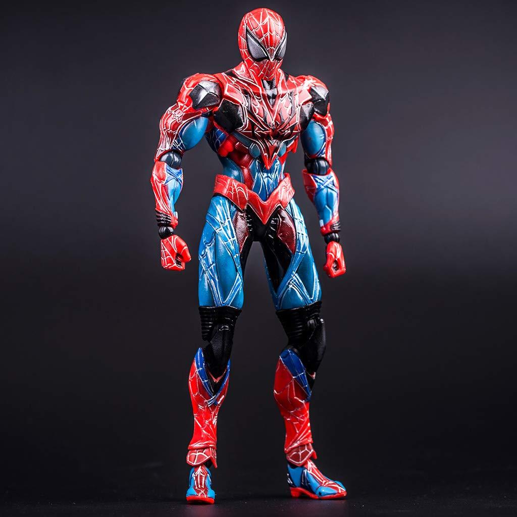 vendiendo bien en todo el mundo Zhizaibide Zhizaibide Zhizaibide Serie Avengers - Personajes de Spider-Man Decoraciones Anime en PVC Boutique en Caja Juguetes Hechos a Mano Recuerdos   Coleccionistas  mejor marca