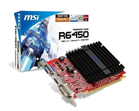 MSI V234-057R - Tarjeta gráfica de 1 GB (Radeon HD 6450 ...