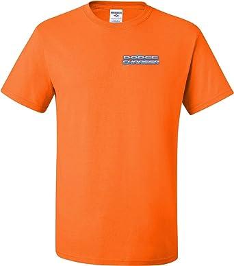 ab1c3e47 Amazon.com: Mens Blue Dodge Charger (Pocket Print) Tall T-shirt ...