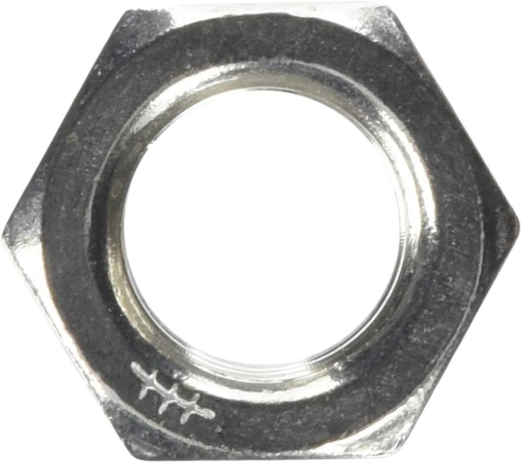 The Hillman Group 829316 7//8 by 9-Inch Stainless Steel Finish Hex Nut 10-Pack