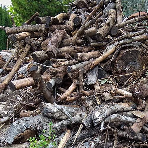 troncos de le/ña. Estufa alto poder calor/ífico 19 kg le/ña para chimenea variada barbacoa fuego al aire libre
