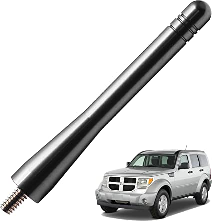13 inches JAPower Replacement Antenna Compatible with Dodge Avenger 2011-2015 Black