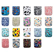 BEST OVERNIGHT! 24 KaWaii Baby Goodnight Heavy Wetter OS Cloth Diapers + 48 Large Inserts