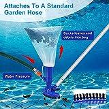 UGarden Portable Pool Vacuum Jet Underwater Cleaner