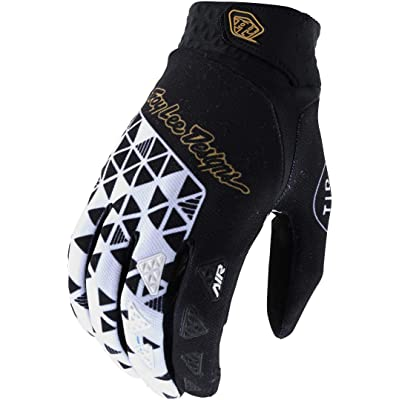 Troy Lee Designs Air Wedge White Black Gloves size Medium: Automotive